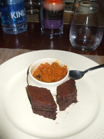The Park on Vembanad Lake: Halwa (carrot) and chocolate cake