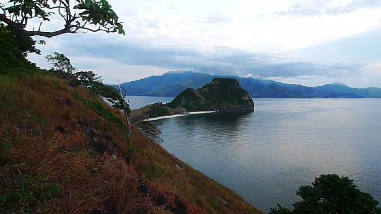 Pundaquit, Filipiny: THE SCENIC VIEW FROM CAPONES ISLAND