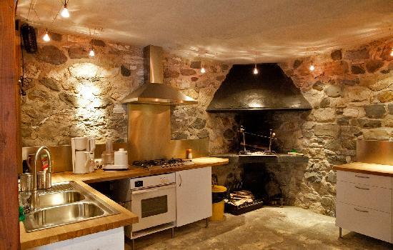 Les Terrasses de Saubissan : cuisine exterieur