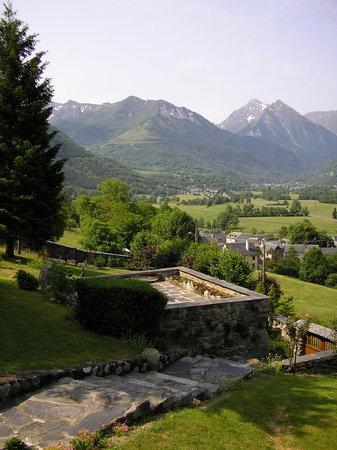 Les Terrasses de Saubissan : jardin