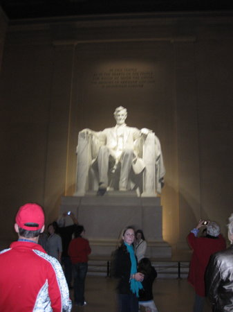Old Town Trolley Tours of Washington DC : Lincoln Memorial