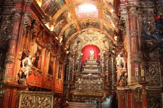 Sao Bento Monastery: Interior