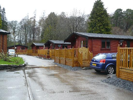White Cross Bay Holiday Park: Outside