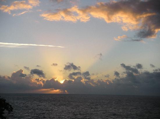 Galina Breeze : Jamaican Sunrise View from Room Window