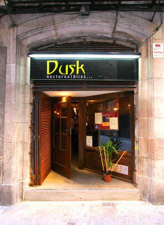 Dusk : The Front entrance