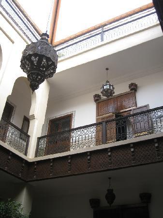 Riad le Clos des Arts: Innenhof Riad
