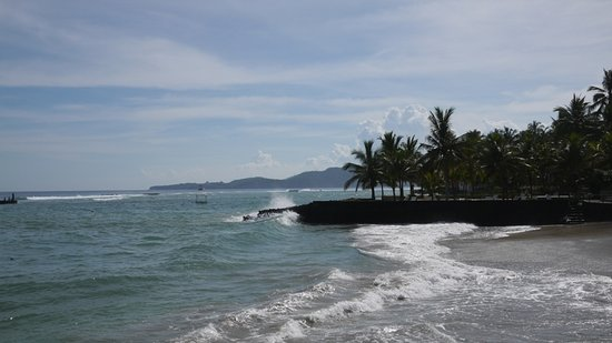 Nusa Indah Bungalows: die Bucht