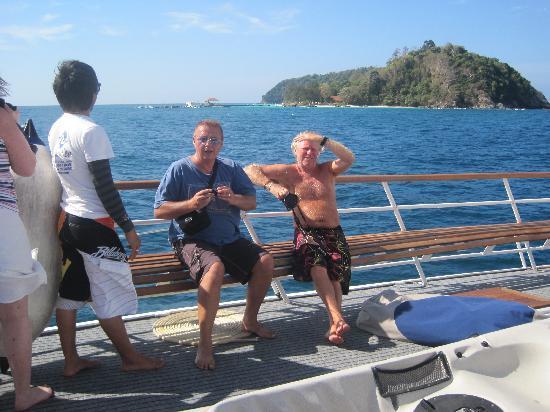 Phuket Sailing Adventures : Ian main man !
