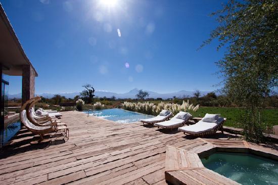 Tierra Atacama Hotel & Spa: The pool area