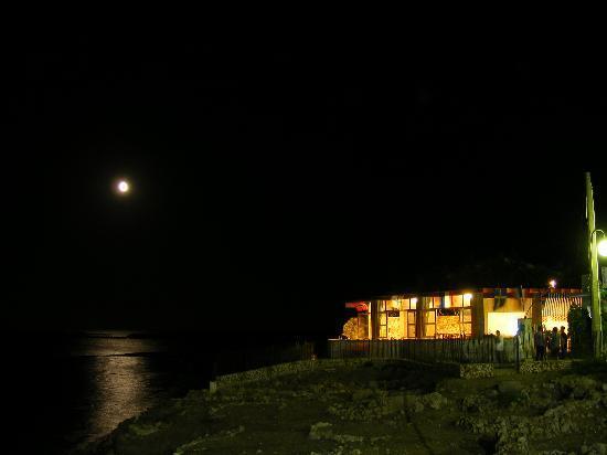 Hotel Vittorio: Il ristorante - Esterno notturno