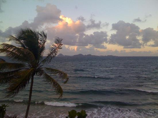 Saint Patrick, Grenada: Blick von unserer Terrasse
