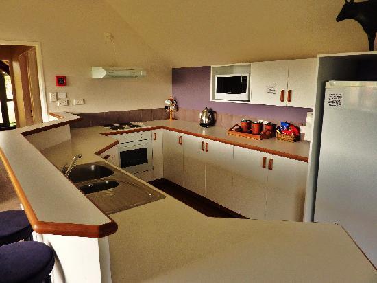 Lake Tekapo Village Motel : Notre cuisine !