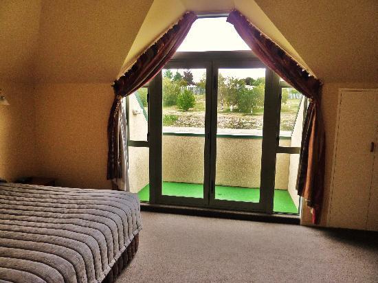 Lake Tekapo Village Motel : La chambre King - vue terrasse