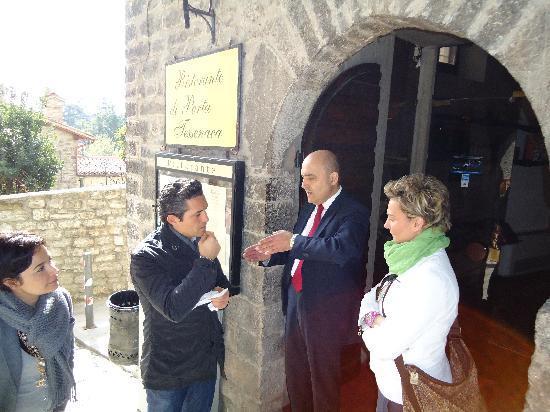 Ristorante di Porta Tessenaca : Il patron Mongelli Ignazio