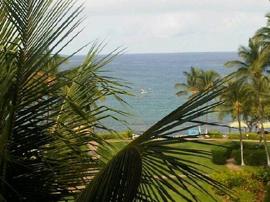 Fairmont Orchid, Hawaii : View from the lanai of Room 2636