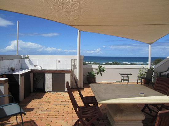 Horizons at Peregian: Roof top looking towards the beach