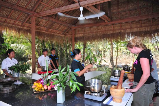 Beyond Unique Escapes: Cambodian Cooking Classes in Village Pavillion