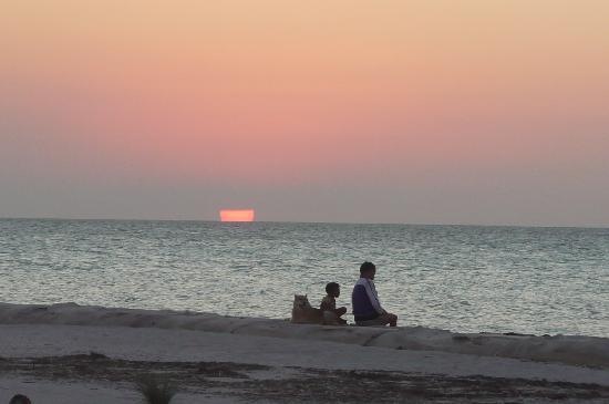 Zomay Hotel Holbox: coucher de soleil