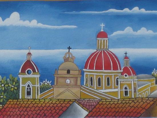 Granada, Nicaragua: street mural