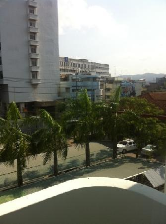 The Florida Hotel Hatyai : view from room
