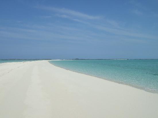 Great Exuma: The amazing Sandbar