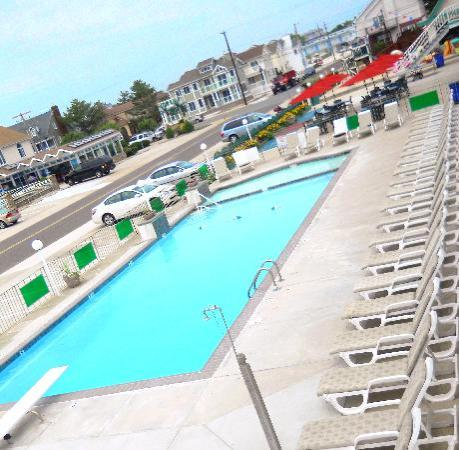 Wildwood Crest, NJ: View of Pool
