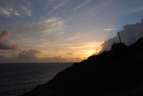 Arawak Bay: the Inn at Salt River: Sunrise