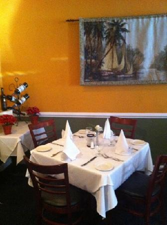 Fresco Grill and Martini Bar: table 14