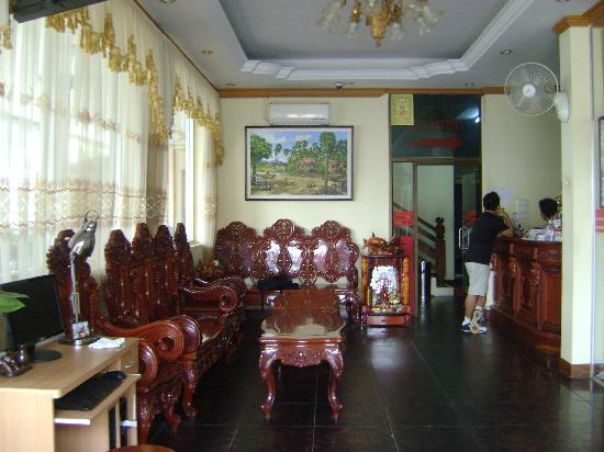 Phnom Penh City Hotel: the lobby 1