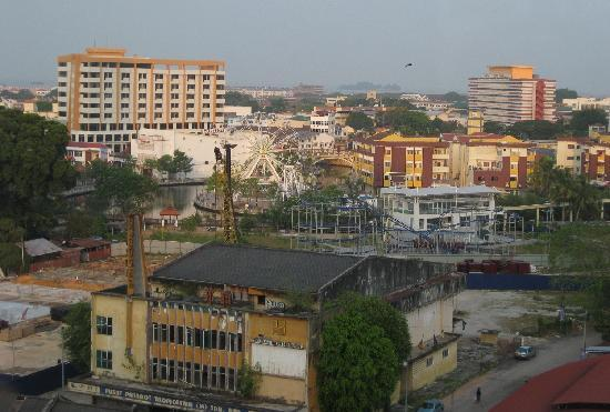 The Majestic Malacca: view from room - amusement park