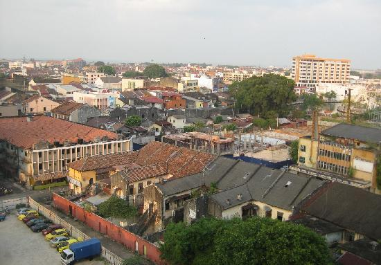 The Majestic Malacca: view from room - shophouses
