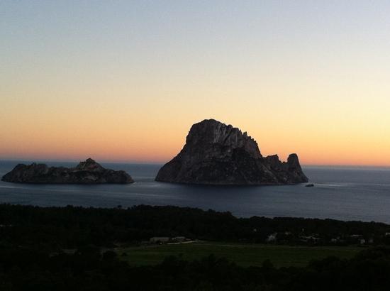 zonsondergang Es Vedra