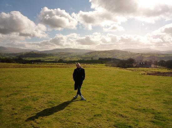 Bryn y Fedwen farm walk
