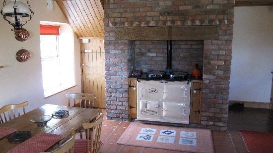 Old Ivy House: der Ofen ist einfach toll im Gebrauch