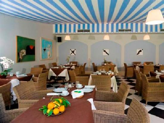 Park Hotel Villa Belvedere: the inner breakfast room