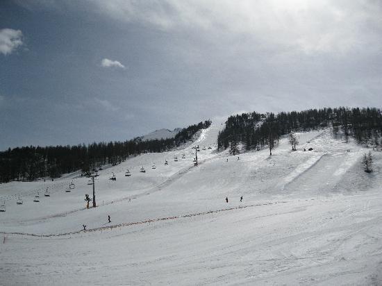 Residence Club mmv Le Hameau des Airelles: Front slopes