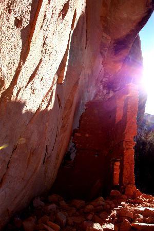 Cortez, CO: cliff dwelling