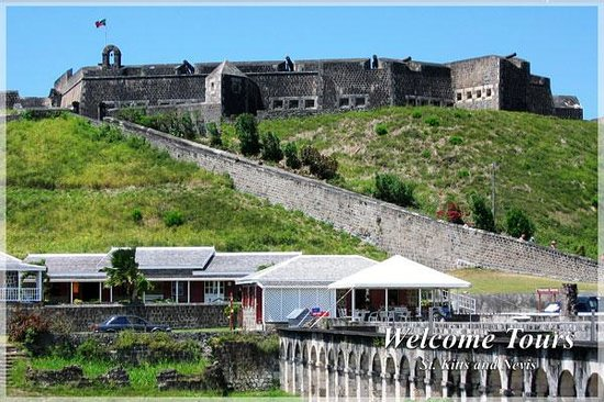 Basseterre, St. Kitts: Brimstone and Palm Court Tour