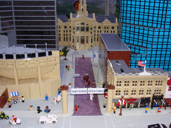 Legoland Discovery Center : Miniland - Ft. Worth Stockyard