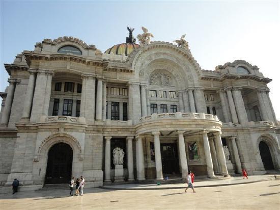 Mexiko-Stadt, Mexiko: Palacio de bellas artes