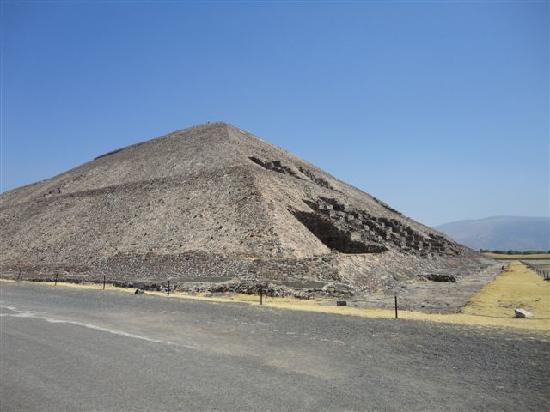 Mexiko-Stadt, Mexiko: Piramide del Sol