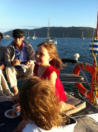 Springtide Sailing Charters: What a happy girl