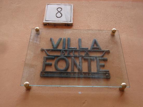 Villa della Fonte Guest House: Palazzina fine '800