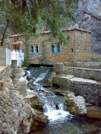 Σεφσάουεν, Μαρόκο: Junto al río