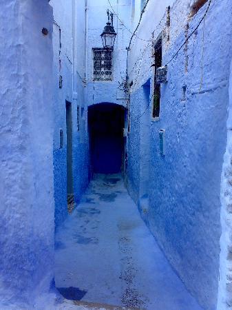Chefchaouen, Morocco: Callejón