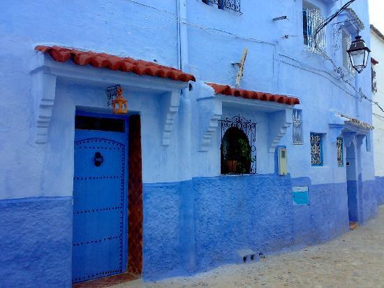 Chefchaouen, Marokko: Puerta_2