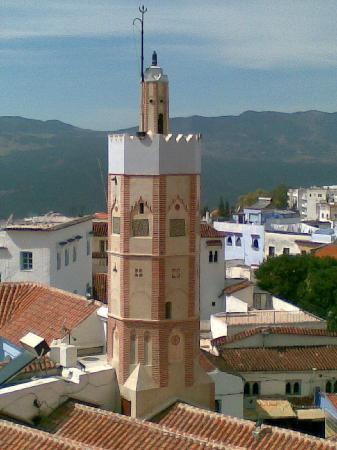 Chefchauen, Marruecos: Minarete