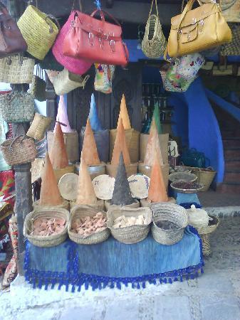 Chefchauen, Marruecos: Tiendecita