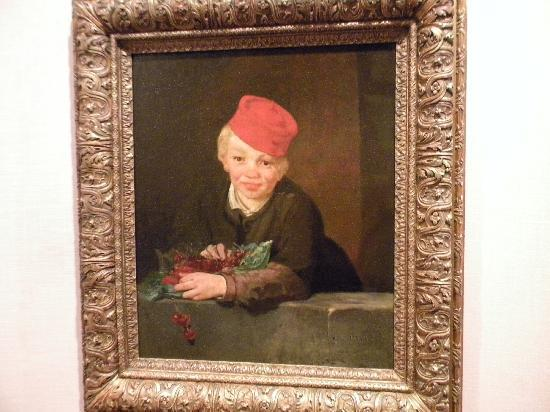 Musée Calouste-Gulbenkian : Manet Edouard - Boy with Cherries