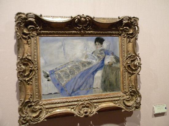 Musée Calouste-Gulbenkian : Renoir - Portrai of Madame Claude Monet
